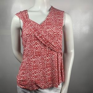 3For$20 Cato Red Sleeveless Blouse size s